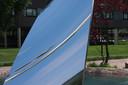 Sky Mirror, trekker bij Museum de Pont.
