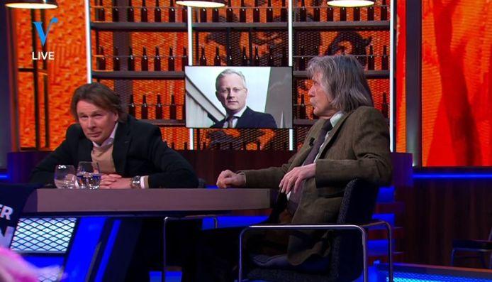 Per abuis is burgemeester Arjen Gerritsen even prominent in beeld bij het tv-programma Veronica Inside.
