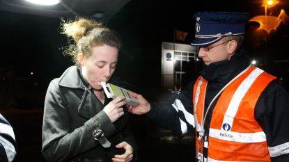 Vier bestuurders onder invloed van alcohol