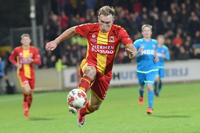 Martijn Berden keert terug in wedstrijdselectie Go Ahead Eagles