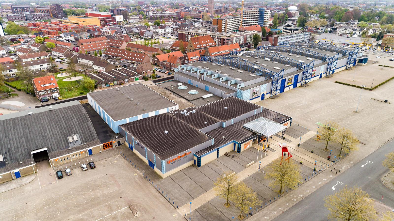 De IJsselhallen in Zwolle.