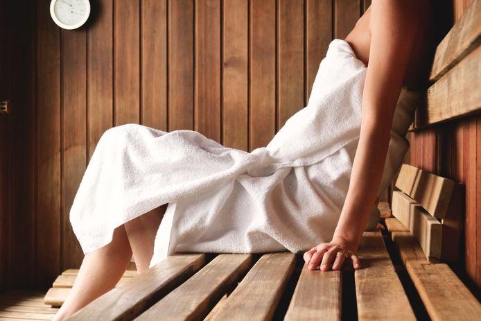 Foto ter illustratie. Het zedenmisdrijf vond plaats in een saunacomplex.