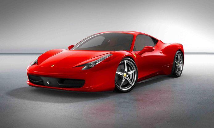Archiefbeeld van een Ferrari 458 Italia.