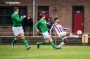 Arnhemia tegen SC Groessen; uit de tijd dat er nog werd gevoetbald op sportpark De Bakenhof.