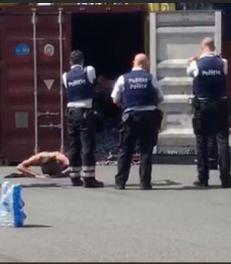 """Drugsbazen laten uithalers stikken in bloedhete container: """"Stuur eerst foto van zakken cocaïne, dan komen we jullie redden"""""""