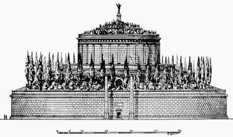 Mausoleum van keizer Augustus Beeld