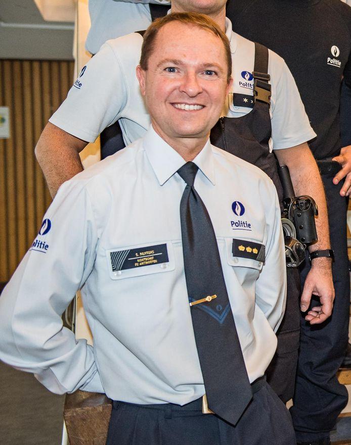 Korpschef Serge Muyters.