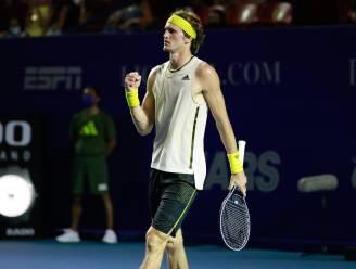 """Zverev noemt bevriezen wereldranglijst absurd: """"Federer speelde een jaar niet, maar staat boven mij"""""""