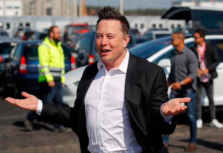 Teslabaas Elon Musk. Beeld AFP