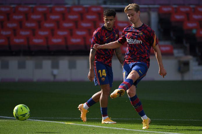 Frenkie de Jong bezorgde RKC Waalwijk natuurgras en een flink eigen vermogen. Dat hij er inmiddels 50 duels op heeft zitten voor Barcelona levert de Waalwijkers een nabetaling op.