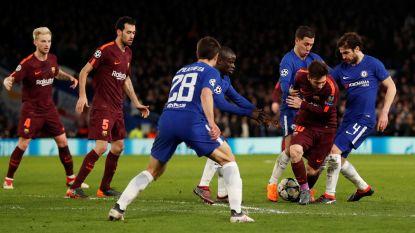 Goal Messi veegt assist Hazard uit