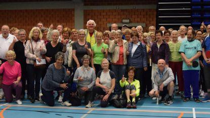 Vijftigplussers nemen deel aan Sporteldag