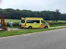 Wielrenner botst tegen ligfietser en raakt gewond in Heilig Landstichting