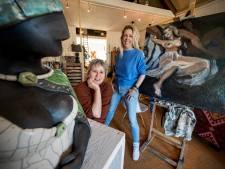 Creatief centrum 'zonder poeha' in Geldermalsen: Marion en Merel starten de Kunstverdieping