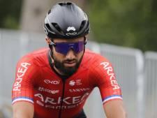 Le sprinteur français Nacer Bouhanni abandonne lors de la 15e étape