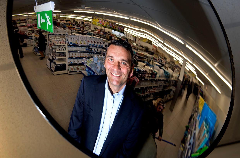 Sander van der Laan CEO van winkelketen Action, 2017 Beeld Hollandse Hoogte / Olaf Kraak Fotografie