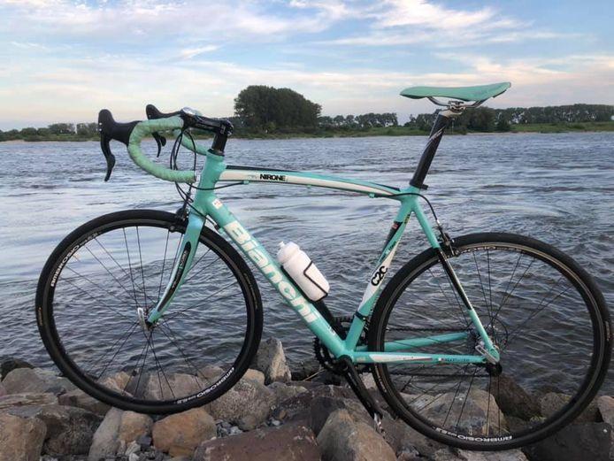 De gestolen fiets van Gerrit Geuvers.