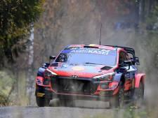 Rallye de Finlande: Neuville boucle la première journée à la sixième place, Breen vire en tête
