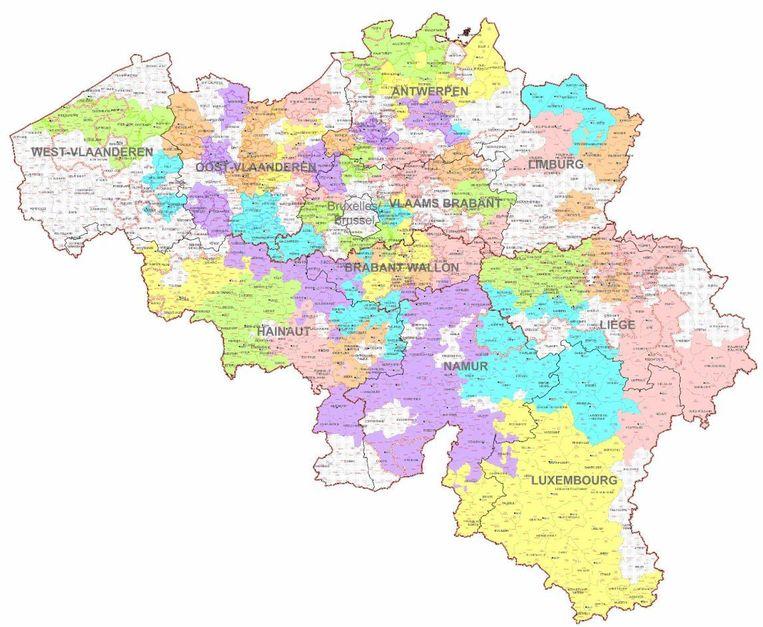 gemeenten kaart Valt jouw gemeente zonder stroom? Ontdek het hier | Nieuws | HLN
