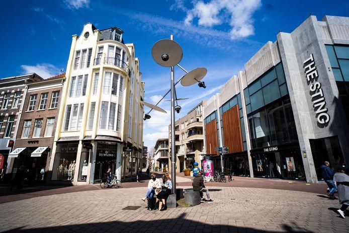 Het lichtkunstwerk van Gijs Bakker op het Land van de Markt gaat verdwijnen, maar krijgt elders een tweede leven.