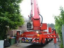 Brand in woning aan Weegbladtuin in Breda