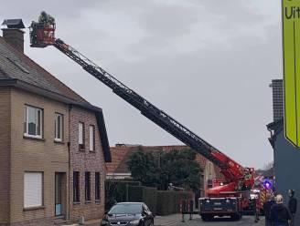 Bosstraat in volle avondspits afgesloten wegens schoorsteenbrand