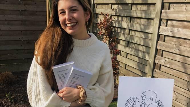 """Amber (22) lanceert webshop met eigen gedichten en illustraties: """"We kunnen allemaal wat extra liefde gebruiken"""""""