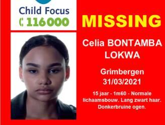 Gezocht: Celia Bontama Lokwa uit Grimbergen