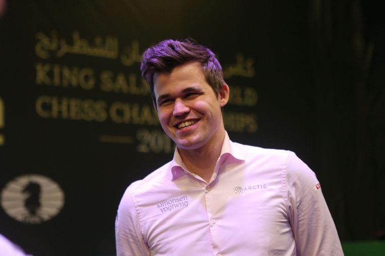 Magnus Carlsen. Beeld Getty Images