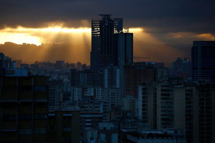 La Tour de David à Caracas aurait dû être le symbole d'une économie florissante.