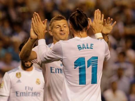 Real Madrid mist Ronaldo geen moment in Galicië