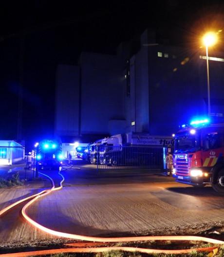 Brand in mengvoederbedrijf snel onder controle