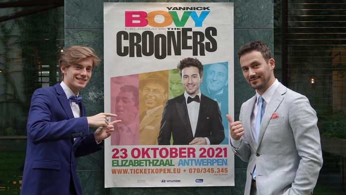 Robin Crauwels en Yannick Bovy staan op 23 oktober in de Koningin Elisabethzaal.