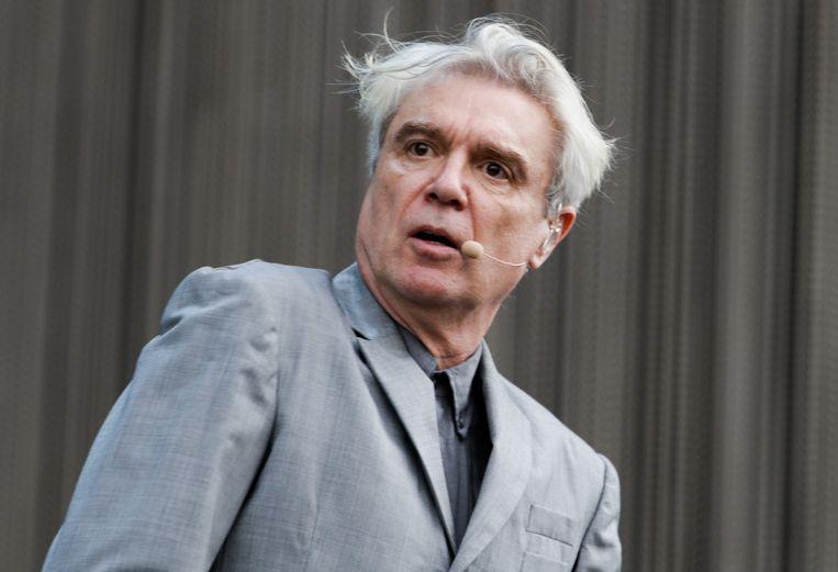 David Byrne komt naar Gent Jazz. Beeld Getty Images