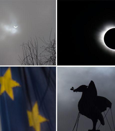Eclips: Noren juichen, Nederlanders balen