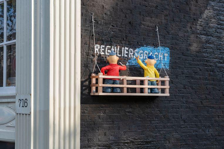 Reguliersgracht Beeld Frankey