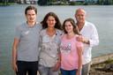 Quincy, Patricia, Demi en Marco Boogers  runnen samen familiebedrijf QLS.