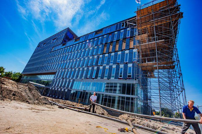 Binckhorst in aanbouw en het nieuwe wonen voor Den Haag.