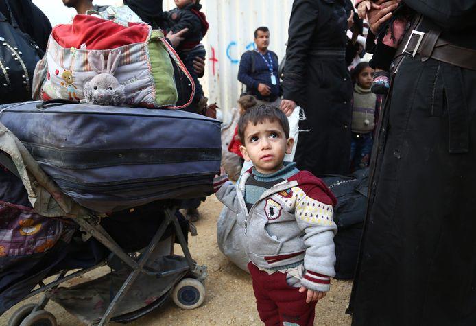 Veel mensen zijn Douma na de aanval ontvlucht.