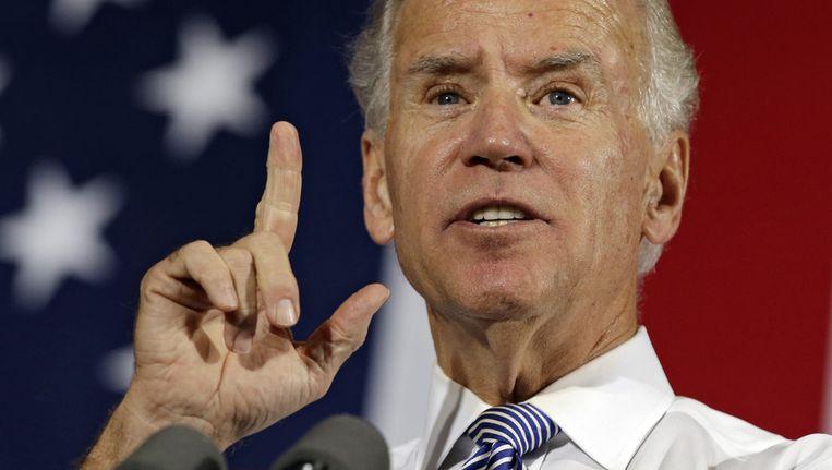 Joe Biden durft scherp uit de hoek komen - en dat draait niet altijd voordelig uit. Beeld AP