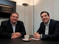 Syriza s'allie à la droite souverainiste