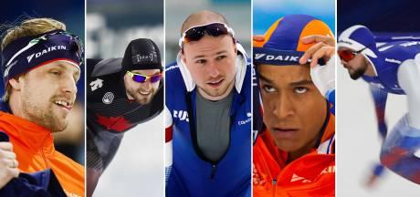 Topfavoriet op 500 meter bij de vrouwen is bekend, maar hoe zit dat bij de mannen?