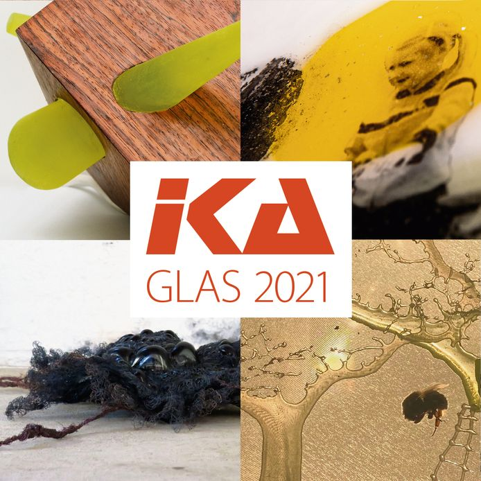 De laatstejaars glaskunst van het IKA tonen dit weekend hun mooiste werk.