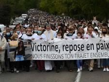 Près de 6.000 personnes rendent hommage à l'infortunée Victorine lors d'une marche blanche