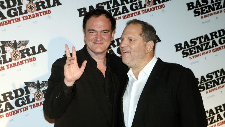 Quentin Tarantino maakte Weinstein groot met Pulp Fiction. Beeld FilmMagic