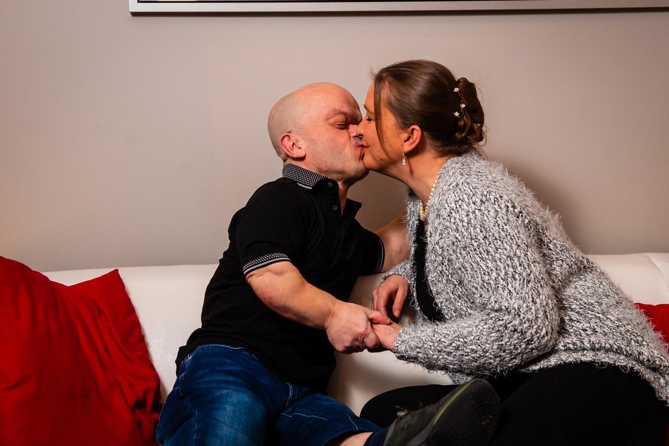Chris Willemsen en z'n vriendin An.
