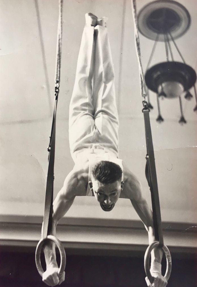Willy Van Wauwe was in zijn jonge jaren zelf ook een getalenteerd gymnast.