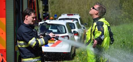 Politie zoekt naar mogelijke wapens bij Nedereindse Plas