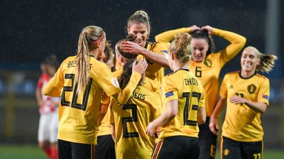 Red Flames rekenen opnieuw simpel af met Kroatië en blijven foutloos richting EK