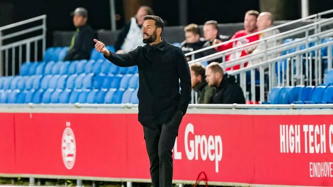 Van Nistelrooy ziet dat Jong PSV een dure rekening gepresenteerd krijgt